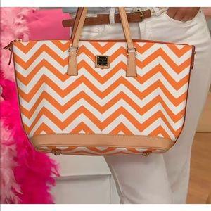 Dooney & Bourke Tote with Matching Zip Bag